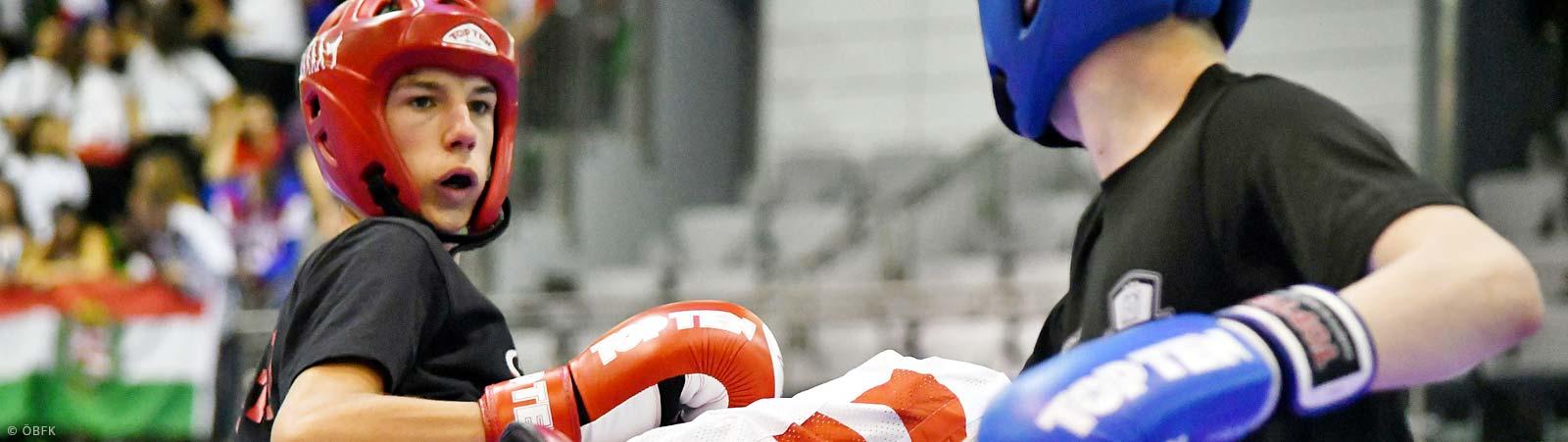Kick- und Thaiboxen