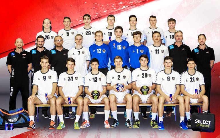 Handball Nationalteam Jugend Männlich